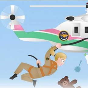 Header Illustration for Helicopter Mommy