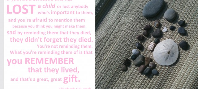"""...you remember that they lived..."""