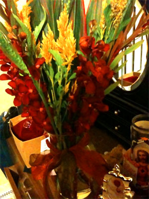 Flowers from Louie
