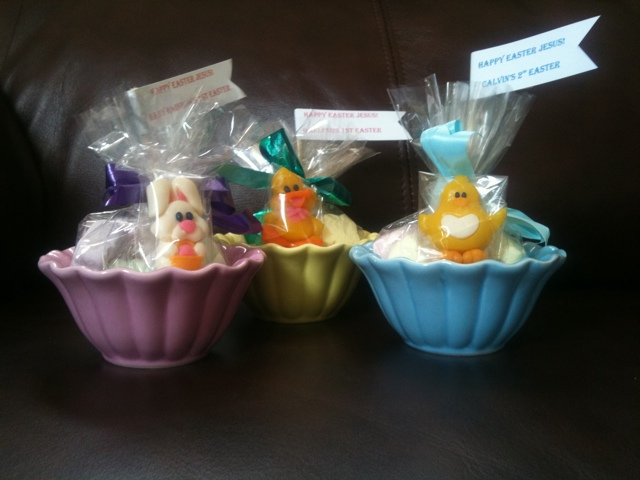 Happy Easter Calvin, Rainbow, and Gaelen from Grandma Yoly