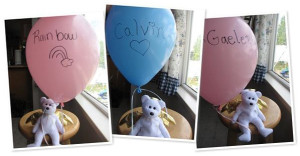 Balloons N is for their Names