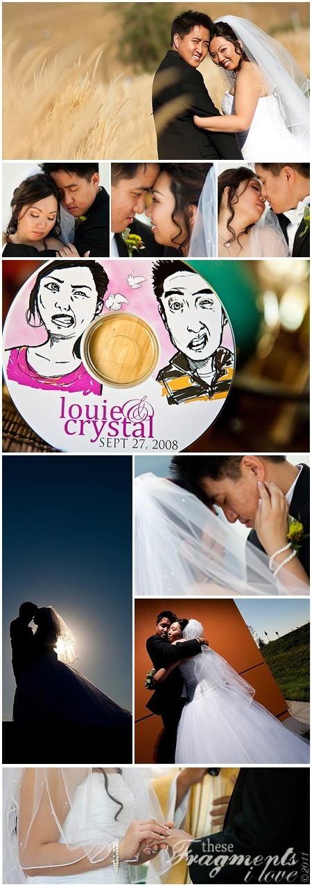 Crystal & Louie - Wedding Collage 9.27.2008