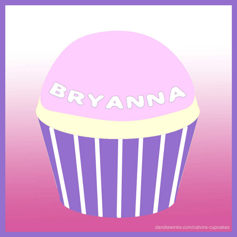 Bryanna's remembrance cupcake