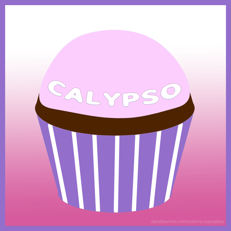 Calypso Paikea Rhyder Lane's remembrance cupcake