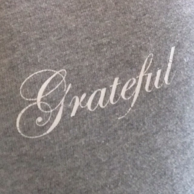 Capture Your Grief – Day 18: Gratitude