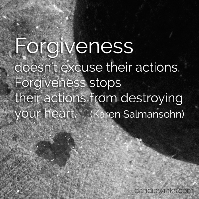 Capture Your Grief – Day 24: Forgiveness