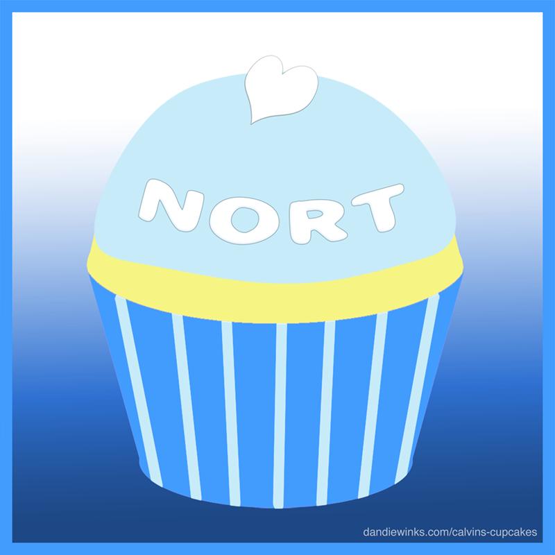 Nort's remembrance cupcake