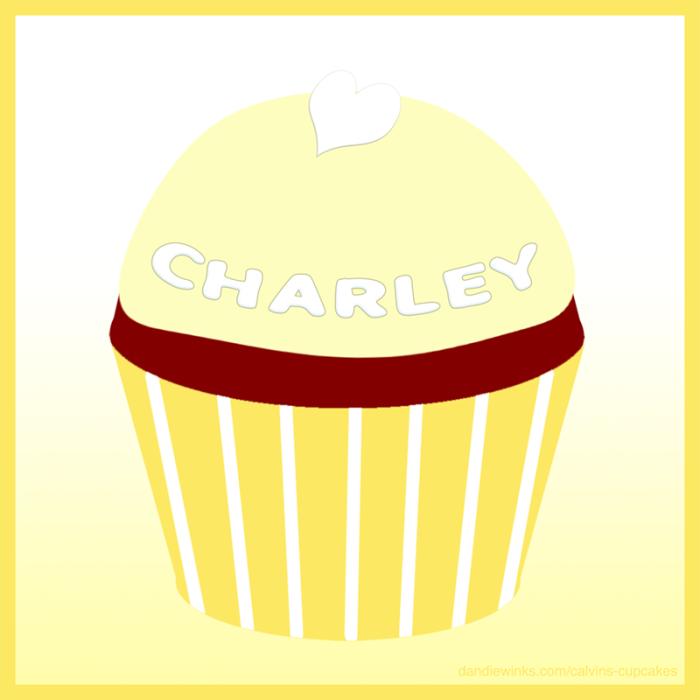 Charlotte's remembrance cupcake