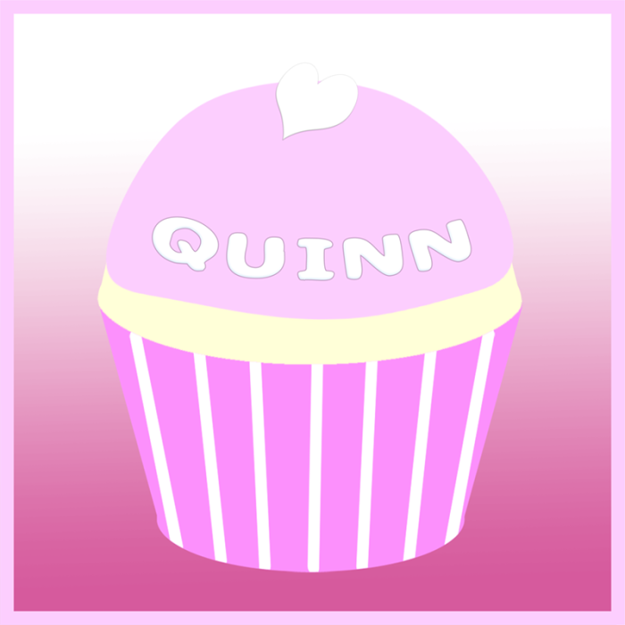 Quinn's remembrance cupcake