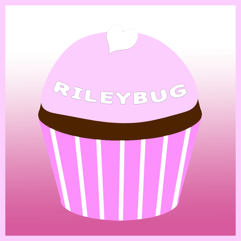 Riley Rose's remembrance cupcake