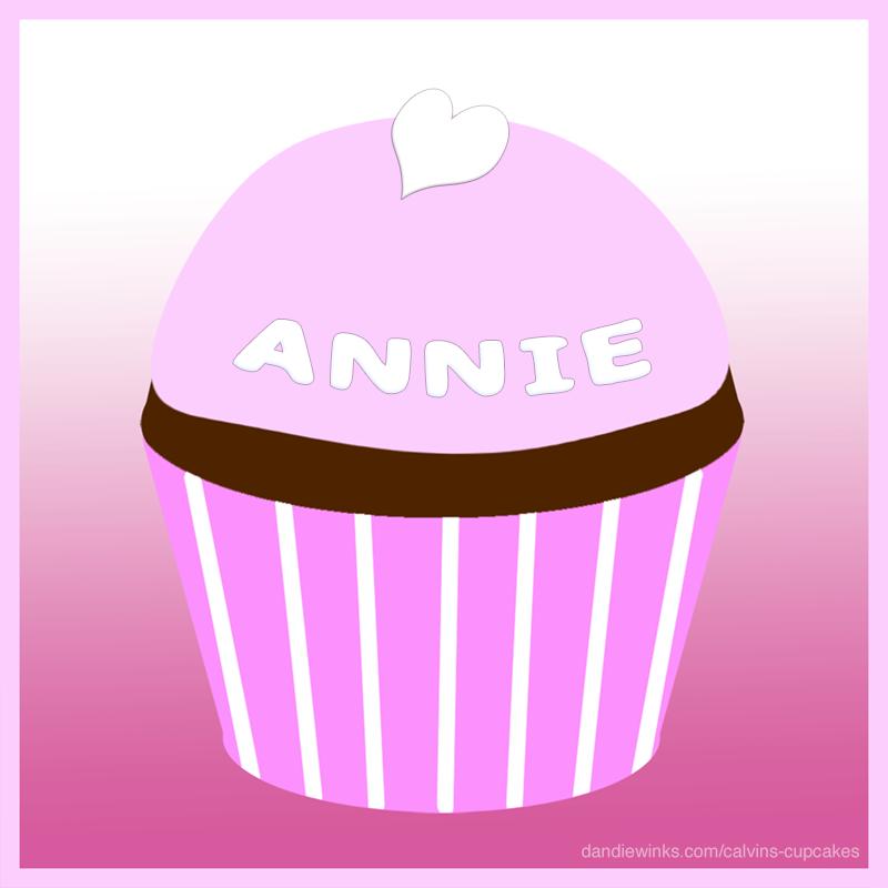 Annie's remembrance cupcake