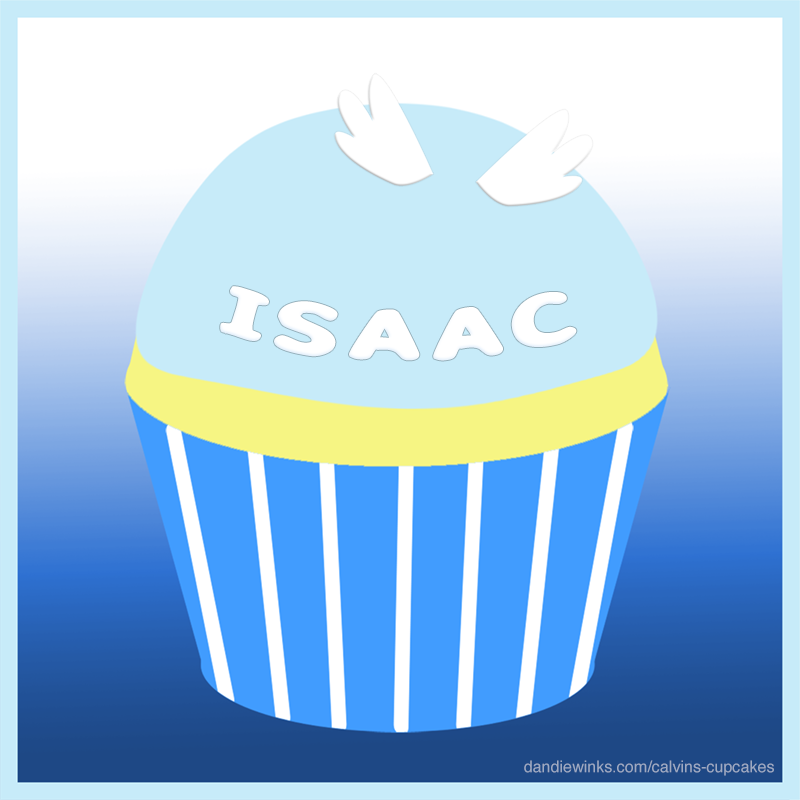 Isaac Edwin Young's remembrance cupcake