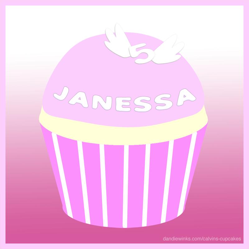 Janessa's remembrance cupcake