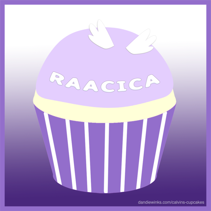 Raacica's remembrance cupcake
