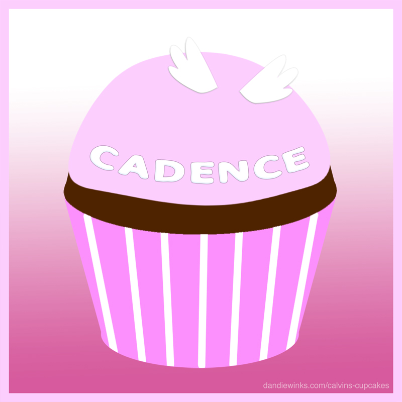 Cadence's remembrance cupcake