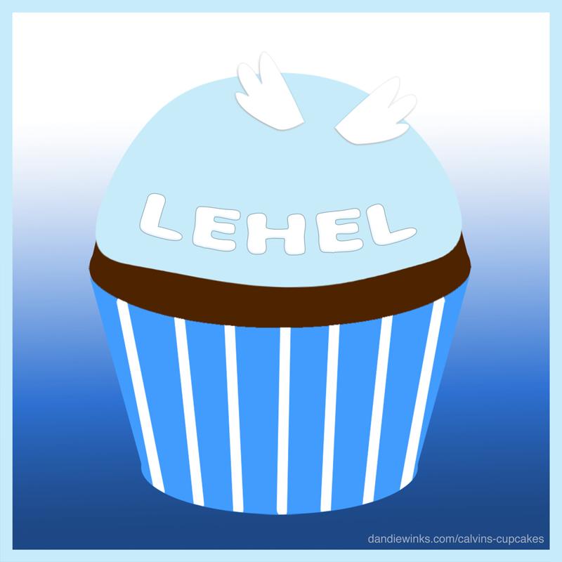 Lehel's remembrance cupcake