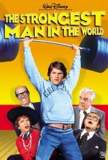"Walt Disney's ""The Strongest Man in the World"" movie poster"