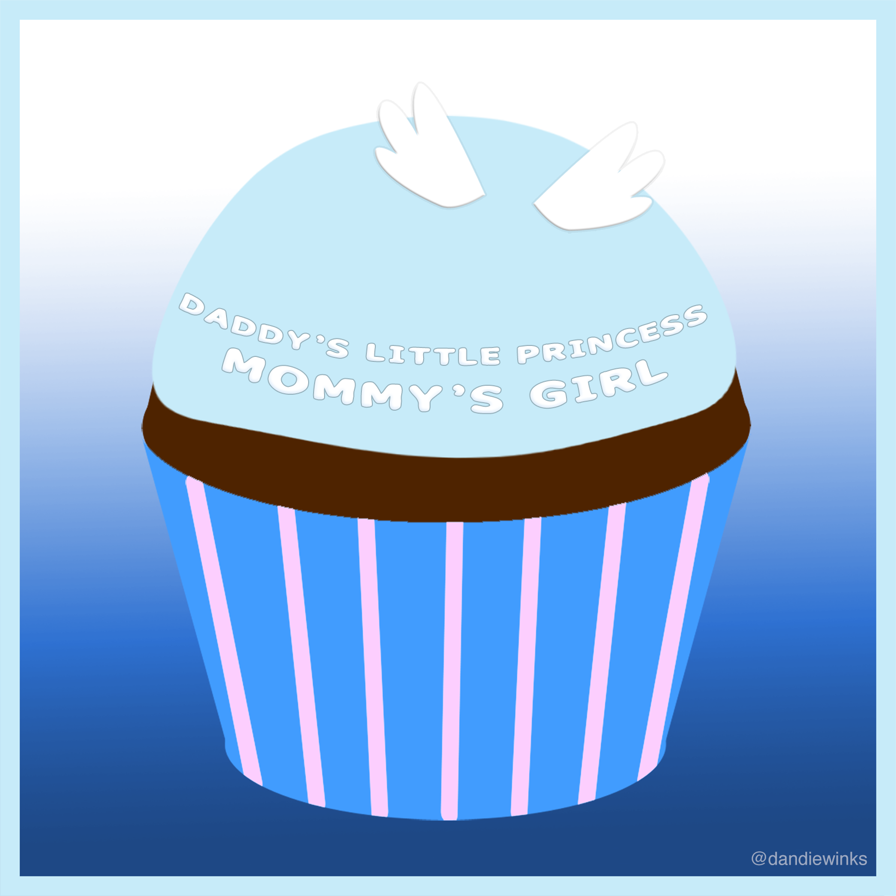 (02.14–03.21.2015) Kendra-Fernanda Aseda Afari's remembrance cupcake from her mother Cyndy