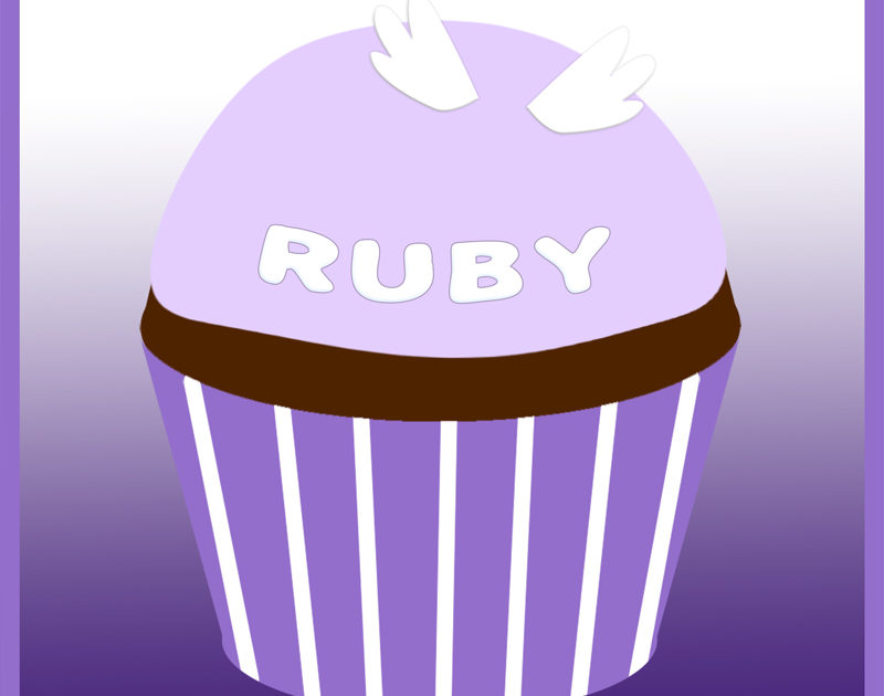Ruby Gallegos's remembrance cupcake from Marissa Klein