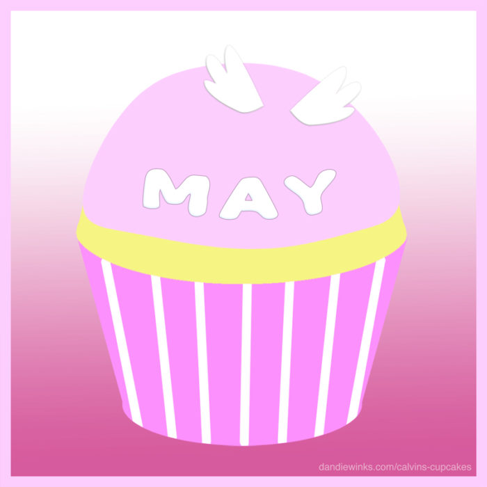 May Sanchez's remembrance cupcake from Melissa Martinez