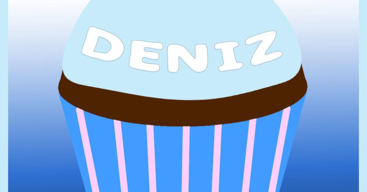 Deniz's remembrance cupcake from Rahşan